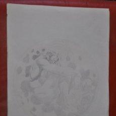 Arte: DIBUJO ORIGINAL A LÁPIZ , CONTEMPORÁNEO . Lote 57528361