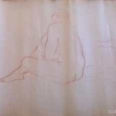 Arte: DIBUJO FIRMADO SALVADOR VIVÒ 1925.MEDIDA 43 X 53.. Lote 57654335