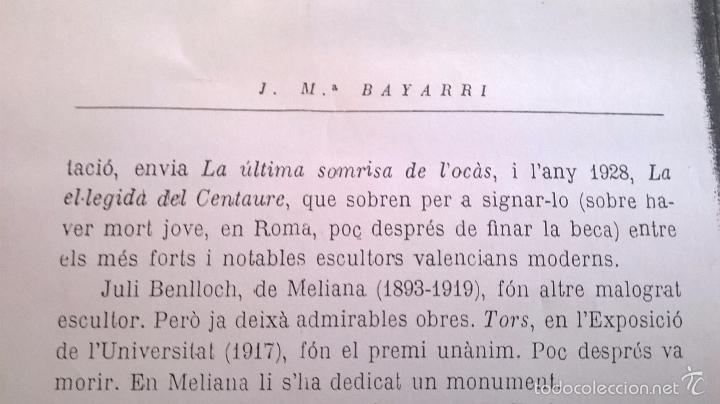 Arte: dibujo firmado Salvador Vivò 1925.Medida 43 x 53. - Foto 5 - 57654335