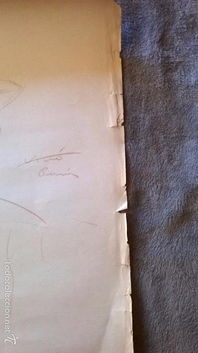 Arte: dibujo firmado Salvador Vivò 1925.Medida 43 x 53. - Foto 4 - 57654366