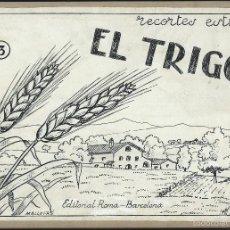 Arte: 8 DIBUJOS ORIGINALES DE MALLAFRE. RECORTES DE ESTUDIO. EL TRIGO. EDITORIAL ROMA. . Lote 57745278