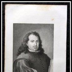 Arte: 1854 - BARTOLOME DE MURILLO- GRABADO - GRAVURE - ENGRAVING - 243X160MM. Lote 57845837