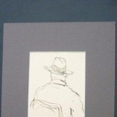 Arte: JOAN MATAMALA FLOTATS (1893-1977). RETRATO. DIBUJO A TINTA. 12 X 9 CTMS. . Lote 57889878