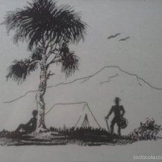Arte: DIBUJO TINTA .. Lote 57899167