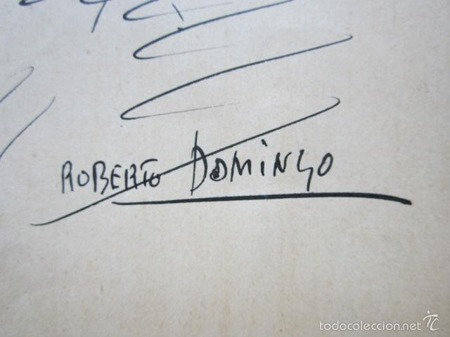 Arte: ROBERTO DOMINGO - DIBUJO ORIGINAL, FIRMADO. TOROS, TAUROMAQUIA. 21,7 X 15,5 CM - Foto 2 - 58255122