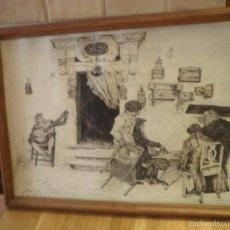 Arte: DIBUJO A PLUMILLA.. Lote 58346419