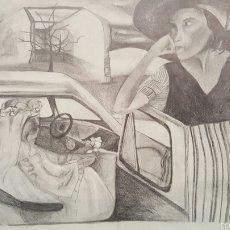 Arte: DIBUJO A LAPIZ, 40X30CM, E.REQUENA. Lote 58372073
