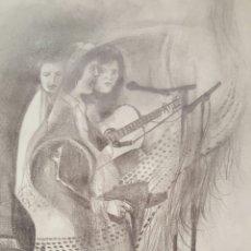 Arte: DIBUJO A LAPIZ, 40X30CM E.REQUENA. Lote 58372077