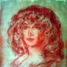 Arte: GITANA, DE ENRIQUE OCHOA (1891-1978). Lote 58380162