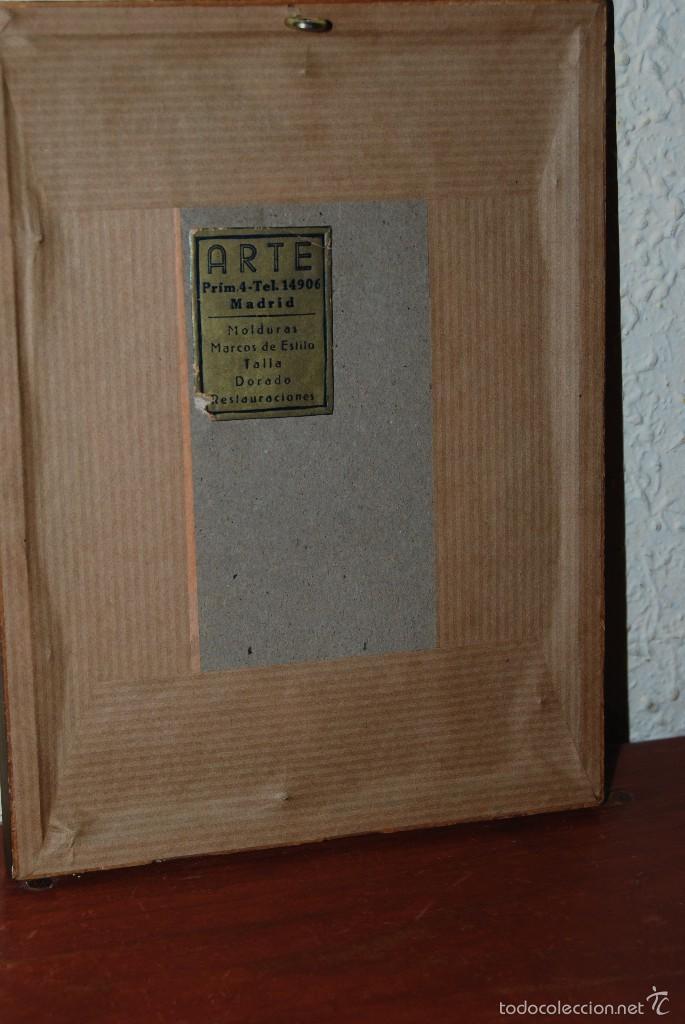 Arte: DIBUJO ORIGINAL A PLUMILLA - COPIA DE LA CONCEPCIÓN DE TIEPOLO - GUILLERMO G. - MEDIADOS SIGLO XIX - Foto 5 - 58452824