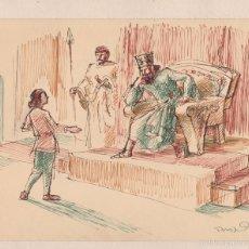 Arte: PERE PRAT UBACH. (1892-1969). ORIGINAL TÉCNICA MIXTA. 20 X 16 CTMS. AÑOS 1930S. Lote 58469310