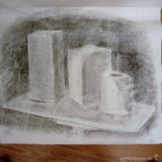 Arte: ANTIGUA ACADEMIA. CARBONCILLO SOBRE PAPEL.. Lote 58526120