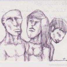 Arte: ESTEVE SOLÉ - NUTA - ESTUDIOS SOBRE LA DISTORSIÓN DE LA REALIDAD Y LOS SENTIMIENTOS - 2001. Lote 58602424