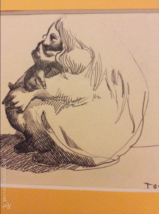 DIBUJO DE EMILIO TORREGO (Arte - Dibujos - Contemporáneos siglo XX)