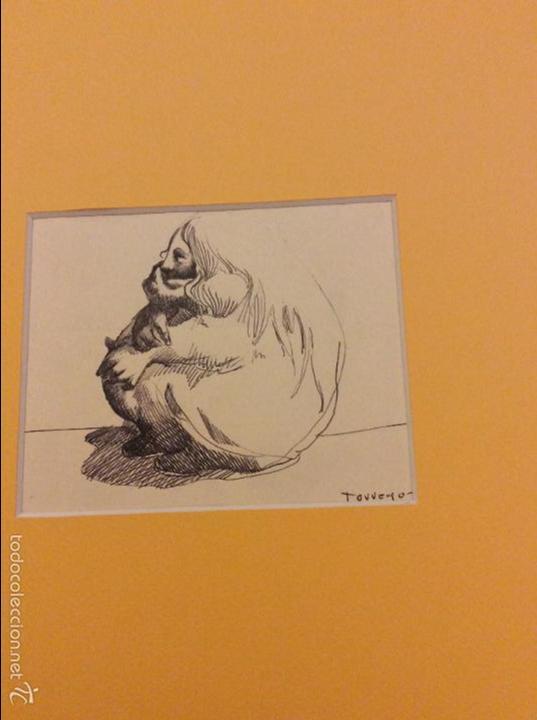 Arte: Dibujo de Emilio Torrego - Foto 2 - 58617929