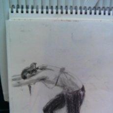 Arte: DIBUJO - EL DESCANSO DE LA BAILARINA --- REFARPUDEBLODI. Lote 58888736