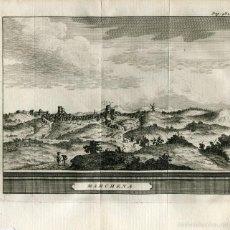 Arte: SEVILLA. MARCHENA. GRABADO PIETER VAN DER AA, 1707. Lote 143290321