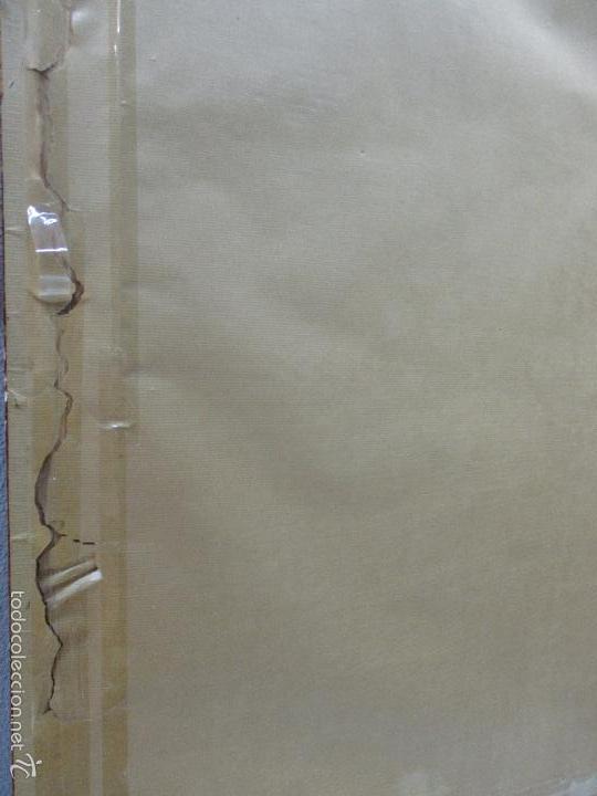 Arte: Bonito Dibujo - Enmarcado y con Cristal - Figura - Firma Florit - Año 58 - Foto 11 - 59479504