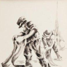 Arte: PESCADORES. M. FARRE. Lote 59706523