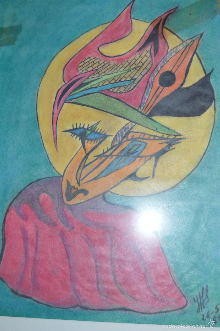 Arte: Juglar. Obra de José Ángel Salinas Álvarez.(Tudela 1958). Firmada y fechada : JAS 26-5-84 - Foto 8 - 59753512