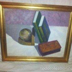Arte: CUADRO CON MARCO DE MADERA - DESCONOZCO CON QUE TECNICA ESTA HECHO. Lote 59979059