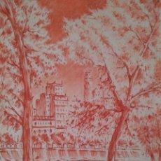 Arte: JOSEP ROCA SASTRE. SANGUINA SOBRE CARTULINA.. Lote 60063267