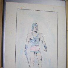 Arte: DIBUJO ORIGINAL DE C.IBAÑEZ AÑO 1943. Lote 60073123