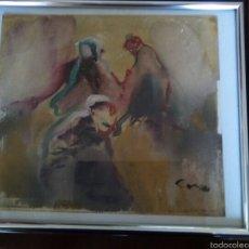 Arte: * ACRILICO ORIGINAL DE J. CORES. Lote 61171174