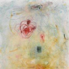 Arte: ROSA AGENJO (BARCELONA, 1955) TECNICA MIXTA SOBRE CARTULINA. TEMA ABSTRACTO. Lote 62127612