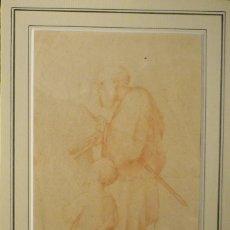 Arte: POBRES MENDIGANDO. ESCUELA ITALIANA DEL S.XVIII.. Lote 63002048