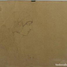 Arte: O1-020. V. NAVARRO. DIBUJO A PLUMA SOBRE PAPEL. 1916.. Lote 43846052
