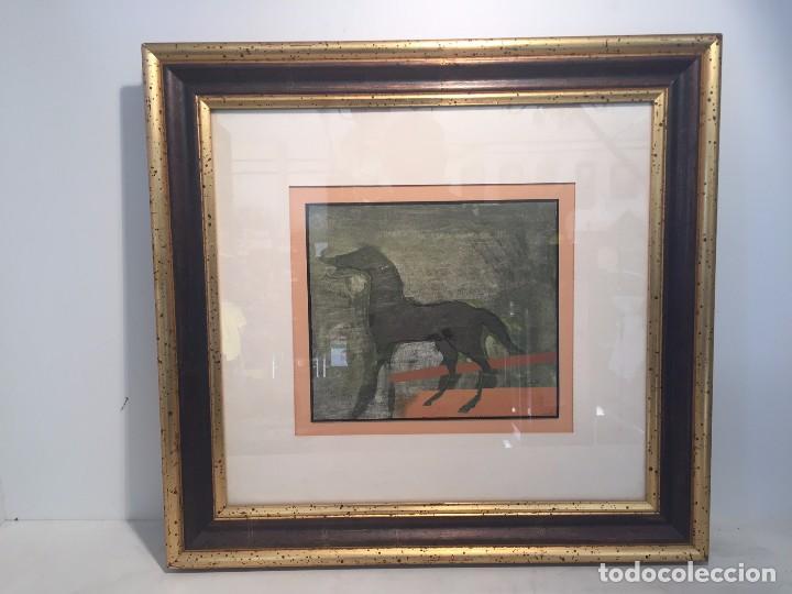 CUADRO DE PUJOL BOIRA, TECNICA MIXTA. (Arte - Dibujos - Contemporáneos siglo XX)