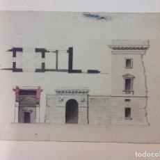 Arte: ANÓNIMO. DETALLE PALACIO REAL DE MADRID.. Lote 66908558