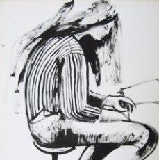 Arte: DIBUJO TINTA FIRMADO GRANADOS LLIMONA 1931. Lote 67114413
