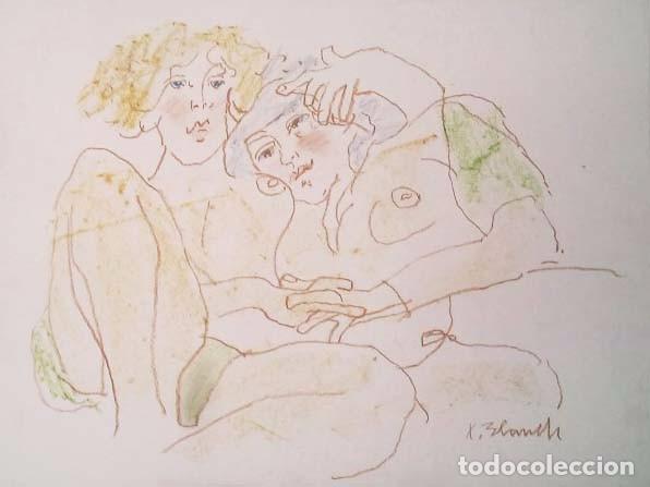 XAVIER BLANCH (1918-1999) (Arte - Dibujos - Contemporáneos siglo XX)