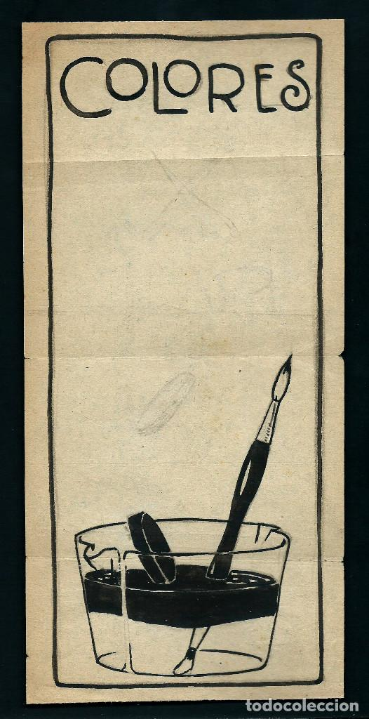 dibujo original. tinta sobre papel. prueba publ - Comprar Dibujos ...