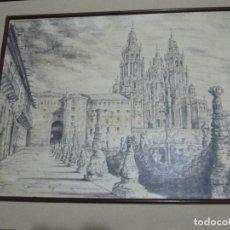 Arte: CUADRO ORIGINAL JOSÉ LUIS HERRERO (ÁVILA 1923 - 1995). DIBUJANTE Y PINTOR.. Lote 67602269
