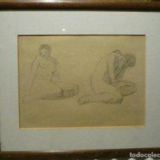 Arte: DESNUDOS FEMENINOS POR RAFAEL BENET (1889-1979). Lote 68583133