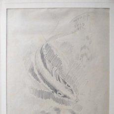 Arte: DIBUJO FIRMADO TORRENT --- FECHADO 1947 (?) . Lote 69113009