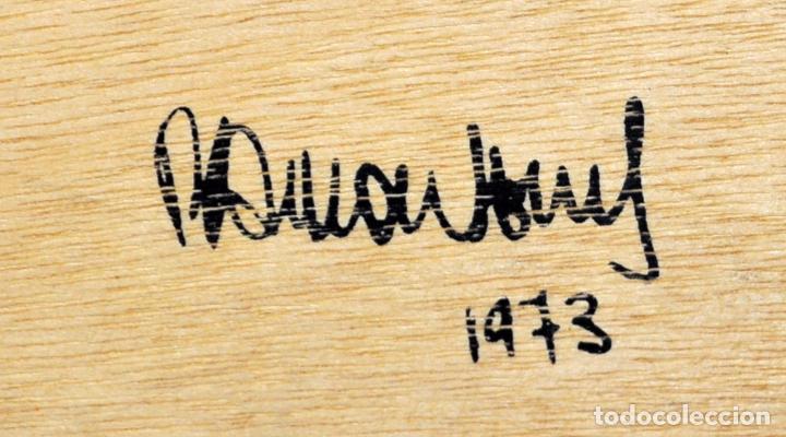Arte: GITANOS (SOMORROSTRO) POR RAMON JESUS VIVES. CAJA CON 16 DIBUJOS ORIGINALES A BOLIGRAFO. AÑO 1973 - Foto 4 - 69483841