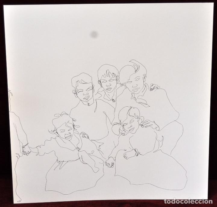 Arte: GITANOS (SOMORROSTRO) POR RAMON JESUS VIVES. CAJA CON 16 DIBUJOS ORIGINALES A BOLIGRAFO. AÑO 1973 - Foto 10 - 69483841