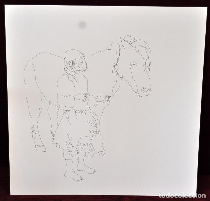 Arte: GITANOS (SOMORROSTRO) POR RAMON JESUS VIVES. CAJA CON 16 DIBUJOS ORIGINALES A BOLIGRAFO. AÑO 1973 - Foto 11 - 69483841