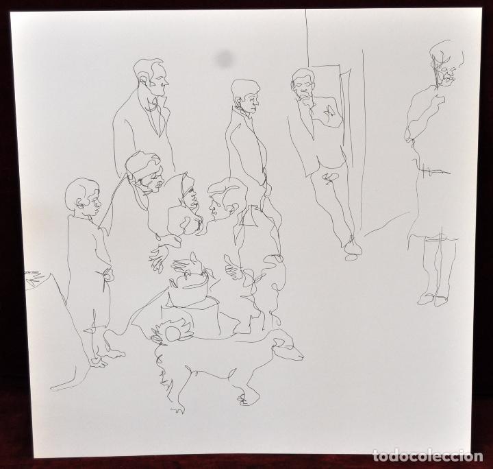 Arte: GITANOS (SOMORROSTRO) POR RAMON JESUS VIVES. CAJA CON 16 DIBUJOS ORIGINALES A BOLIGRAFO. AÑO 1973 - Foto 12 - 69483841