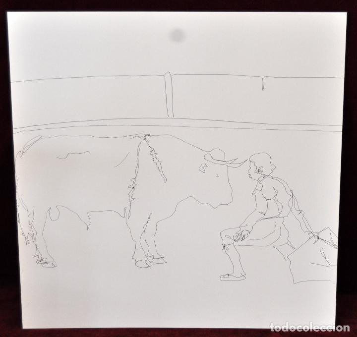 Arte: GITANOS (SOMORROSTRO) POR RAMON JESUS VIVES. CAJA CON 16 DIBUJOS ORIGINALES A BOLIGRAFO. AÑO 1973 - Foto 13 - 69483841