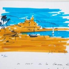 Arte: AUGUST ROSELL * DIBUJO EN CATÁLOGO. Lote 70087073