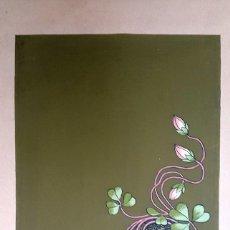 Arte: ART NOUVEAU - MODERNISMO - GOUACHE - 1910'S. Lote 70453025