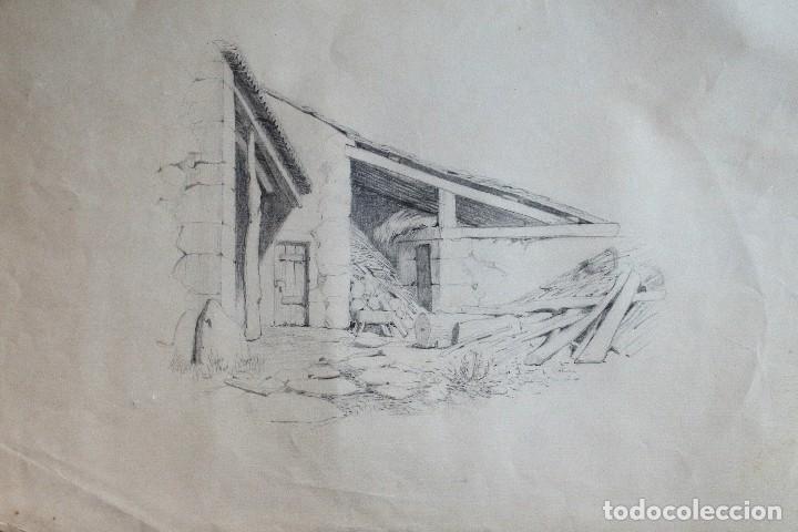 Hermosos Dibujos A Lapiz Con Motivos Rurales Kaufen