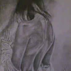 Arte: MUJER DE ESPALDAS. Lote 71139597
