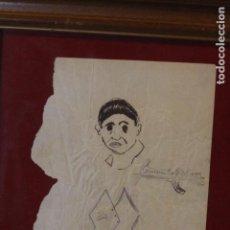Arte: FERNANDO CABRERA, DIBUJO ORIGINAL, ENMARCADO.. Lote 72155431