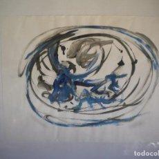 Arte: TECNICA MIXTA ABSTRACTO, TEMA TAURINO S.XX.. Lote 72460231